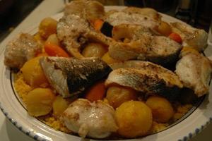 Recette couscous tunisien au poisson - Cuisine tunisienne poisson ...